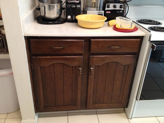 Kitchen remodel – Cabinet resurface