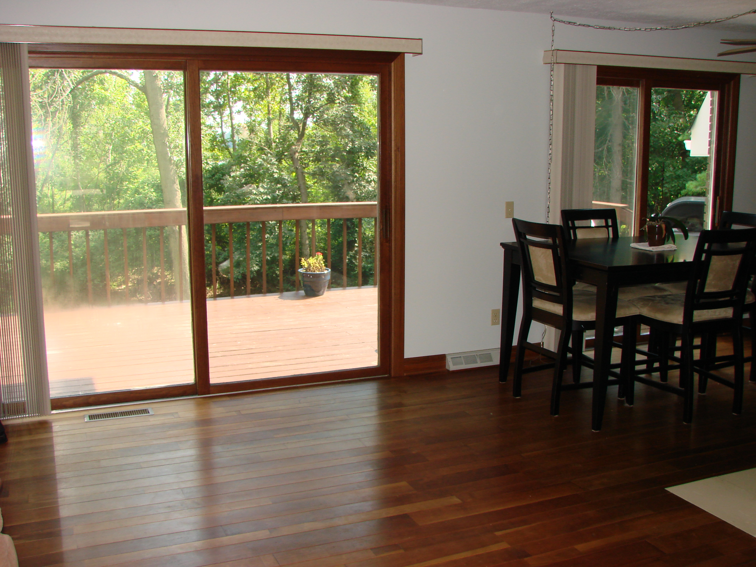 Interior remodel of dining room